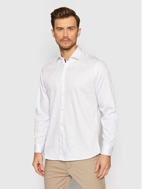Selected Homme Selected Homme Chemise Flex Park 16077346 Blanc Slim Fit