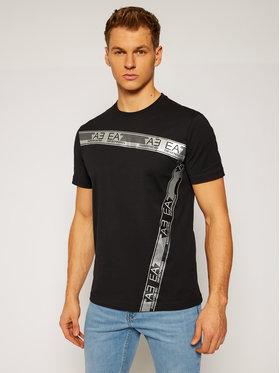 EA7 Emporio Armani EA7 Emporio Armani T-Shirt 6HPT10 PJ02Z 1200 Černá Slim Fit