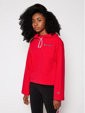 Champion Champion Sweatshirt Logo Cropped 113186 Rouge Custom Fit
