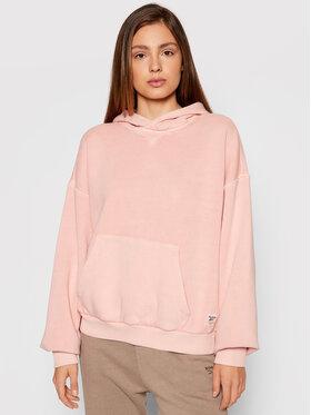 Reebok Reebok Bluza Classics Natural Dye H41359 Różowy Oversize