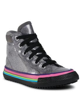 Converse Converse Sneakersy Ctas Pc Boot Hi 668481C Stříbrná