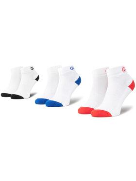 Champion Champion Комплект 3 чифта къси чорапи унисекс CH00082D 8LZ Бял