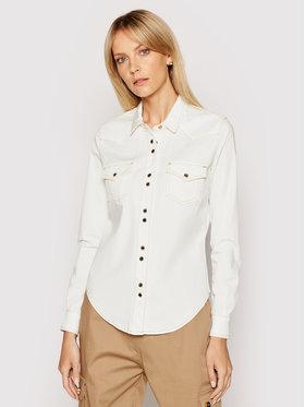 Pinko Pinko Marškiniai Caroline 5 1J10M9 Y6Z6 Balta Regular Fit