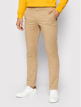 Tommy Hilfiger Tommy Hilfiger Pantaloni chino Bleecker Satin MW0MW13287 Marrone Slim Fit