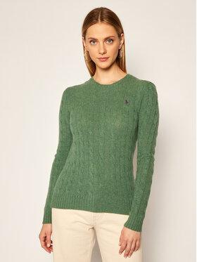 Polo Ralph Lauren Polo Ralph Lauren Sweter Julianna Wool/Cashmere 211525764073 Zielony Regular Fit