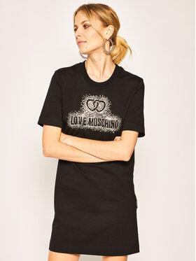 LOVE MOSCHINO LOVE MOSCHINO Robe de jour W5A0214E 2139 Noir Regular Fit
