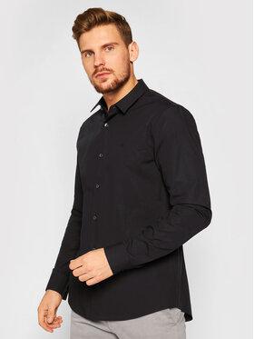 Calvin Klein Jeans Calvin Klein Jeans Hemd Stretch Shirt J30J316085 Schwarz Slim Fit