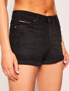 Tommy Jeans Tommy Jeans Szorty jeansowe Denim DW0DW08209 Czarny Regular Fit