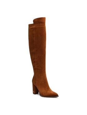 Carinii Carinii Μπότες πάνω από το γόνατο B5665 Καφέ
