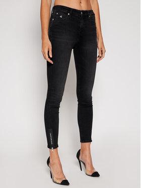 Calvin Klein Jeans Calvin Klein Jeans Дънки Skinny Fit J20J214542 Черен Skinny Fit