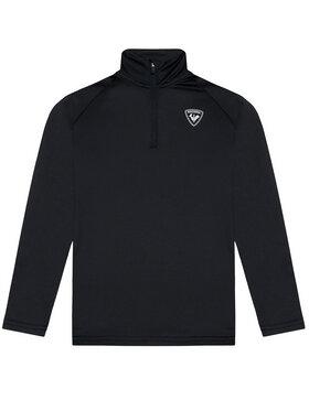 Rossignol Rossignol Bluza techniczna 1/2 Zip RLIYL03 Czarny Regular Fit