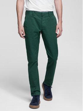 Vistula Vistula Spodnie materiałowe Flint XA0614 Zielony Regular Fit