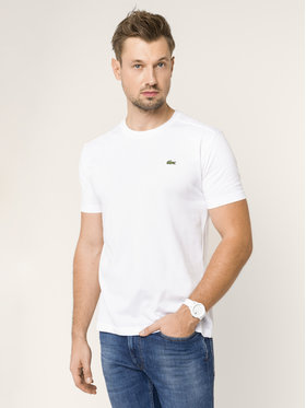 Lacoste Lacoste T-shirt TH7618 Bianco Regular Fit
