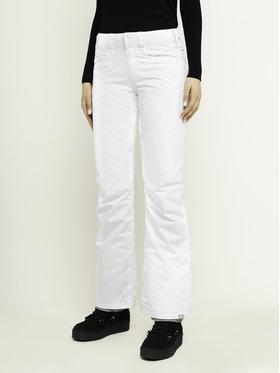 Roxy Snowboardové nohavice Backyard ERJTP03091 Biela Slim Fit
