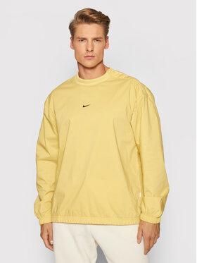 Nike Nike Sweatshirt Essentials DD7016 Jaune Regular Fit