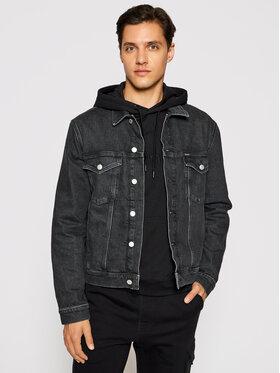 Calvin Klein Calvin Klein Τζιν μπουφάν K10K106793 Μαύρο Regular Fit