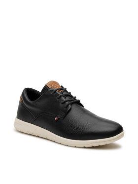 Tommy Hilfiger Tommy Hilfiger Félcipő Lightweight Leather Hybrid Shoe FM0FM03600 Sötétkék