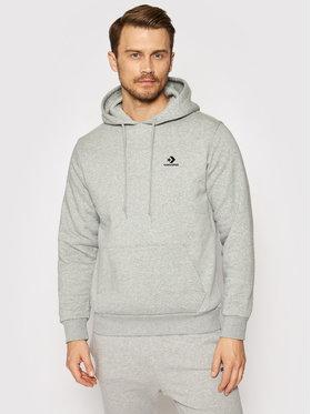 Converse Converse Sweatshirt Star Chevron Embroidered 10019923-A02 Grau Regular Fit