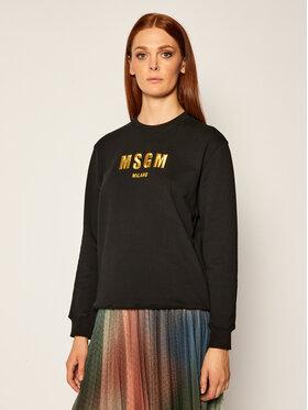 MSGM MSGM Mikina 2941MDM194 207799 Černá Regular Fit