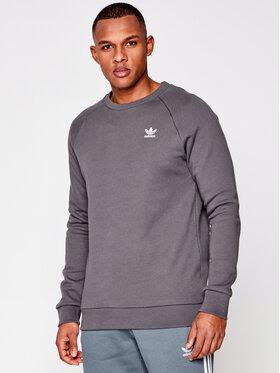 adidas adidas Bluză Essential Crew GN3411 Gri Regular Fit