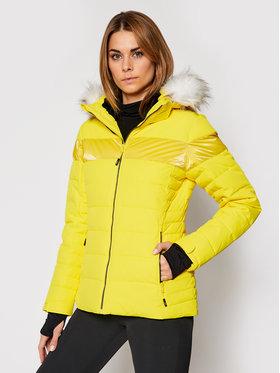 CMP CMP Lyžařská bunda 30W0686 Žlutá Regular Fit