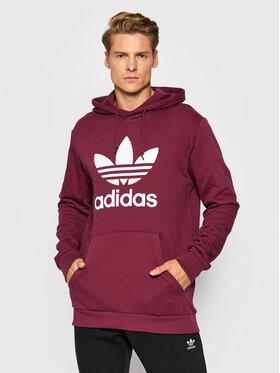 adidas adidas Суитшърт adicolor Classics Trefoil H06666 Бордо Standard Fit