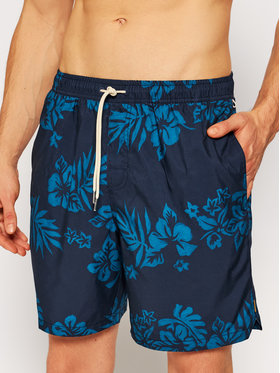 "Quiksilver Quiksilver Szorty kąpielowe Floral Feelings 18"" Volleys EQMJV03059 Niebieski Regular Fit"