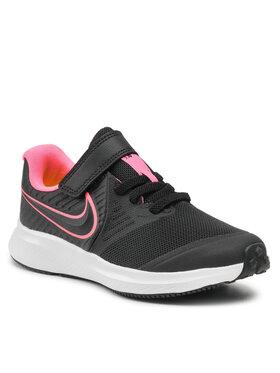 Nike Nike Boty Star Runner 2 (PSV) AT1801 002 Černá