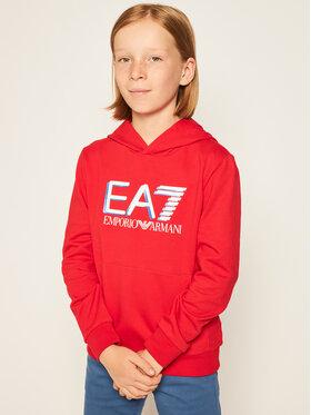 EA7 Emporio Armani EA7 Emporio Armani Sweatshirt 3HBM54 BJ05Z 1451 Rot Regular Fit