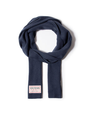 Guess Guess Šál Not Coordinated Scarves AM8732 WOL03 Tmavomodrá