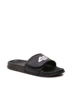 4F 4F Mules / sandales de bain NOSDJ-JKLM200 Noir