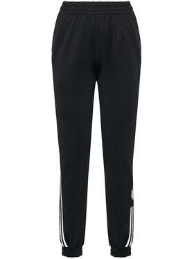 adidas adidas Pantalon jogging adicolar 3D Trefoil Track GN2897 Noir Regular Fit