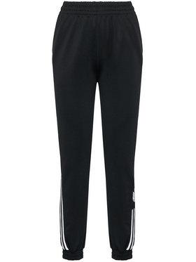 adidas adidas Teplákové nohavice adicolar 3D Trefoil Track GN2897 Čierna Regular Fit