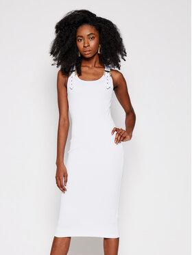 Versace Jeans Couture Versace Jeans Couture Každodenní šaty D2HWA439 Bílá Slim Fit
