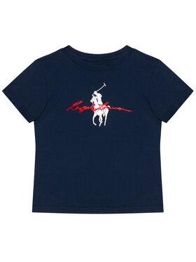 Polo Ralph Lauren Polo Ralph Lauren T-Shirt Ss Graph Tee 323839239002 Granatowy Regular Fit
