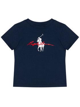 Polo Ralph Lauren Polo Ralph Lauren T-Shirt Ss Graph Tee 323839239002 Tmavomodrá Regular Fit