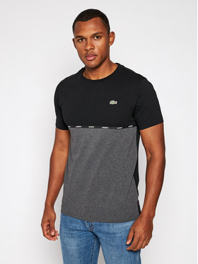 Lacoste Lacoste T-Shirt TH6257 Szary Regular Fit