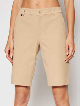 Lauren Ralph Lauren Lauren Ralph Lauren Pantalon scurți din material 200661653009 Bej Regular Fit