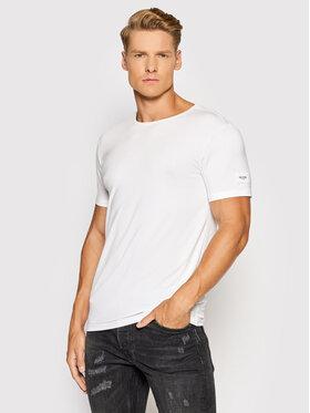 Guess Guess Marškinėliai U1GM01 JR06A Balta Slim Fit