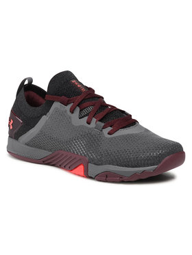 Under Armour Under Armour Παπούτσια Ua Tribase Reign 3 3023698-101 Γκρι
