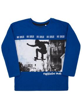 Primigi Primigi Pulóver Back to Skate 44212031 Kék Regular Fit
