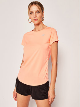 New Balance New Balance T-Shirt Accelerate Short Sleeve V2 WT91136 Orange Athletic Fit
