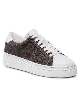 MICHAEL Michael Kors MICHAEL Michael Kors Sneakersy Champan Lace Up 43S1CHFS1B Brązowy