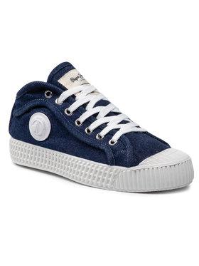 Pepe Jeans Pepe Jeans Sneakers In-G Denim Woman PLS30877 Bleu marine