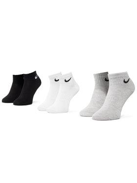 NIKE NIKE Lot de 3 paires de chaussettes basses unisexe SX7677 901 Multicolore