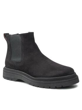 Badura Badura Kotníková obuv s elastickým prvkem MI08-C877-876-05 Černá
