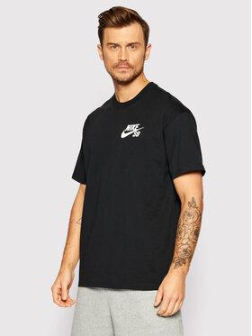 Nike Nike T-Shirt SB Icon DC7817 Černá Loose Fit