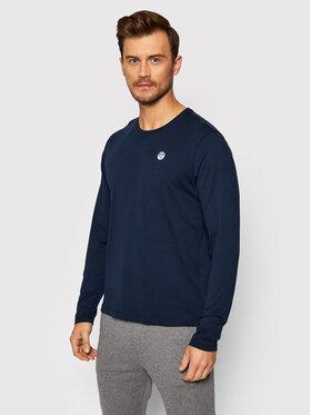North Sails North Sails Marškinėliai ilgomis rankovėmis Organic 692751 Tamsiai mėlyna Regular Fit