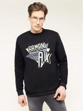 Armani Exchange Armani Exchange Sweatshirt 3HZMAJ ZJ4FZ 1200 Schwarz Regular Fit