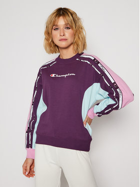 Champion Champion Bluză Crewneck 113339 Violet Custom Fit